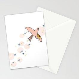 flight. Stationery Cards