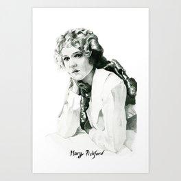 Mary Pickford Art Print