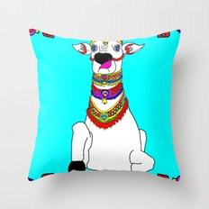 The Holy Cow Throw Pillow