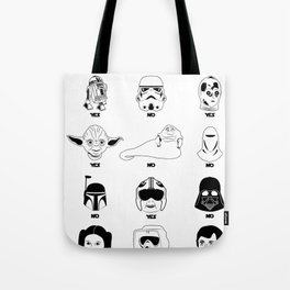 Stormtrooper Blaster Target Cheat Sheet Tote Bag