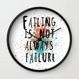 Fail is not always a failure Wall Clock