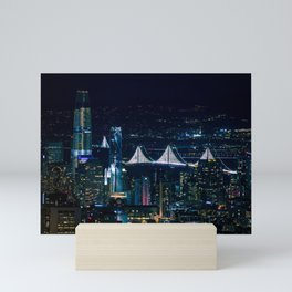 San Francisco lights Mini Art Print