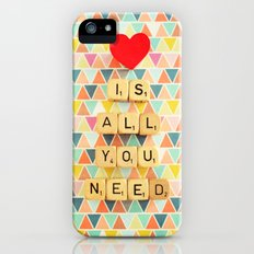 Love is All You Need iPhone (5, 5s) Slim Case