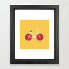 watermelon bike Framed Art Print