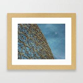 Biosphère 2 Framed Art Print