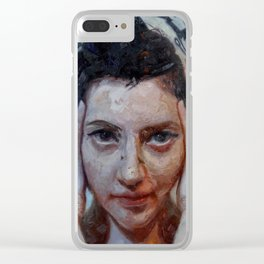 """""""Inner Mind"""" Clear iPhone Case"""