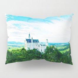 Neuschwanstein Fairy Tale Castle Pillow Sham