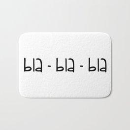 bla-bla-bla Bath Mat