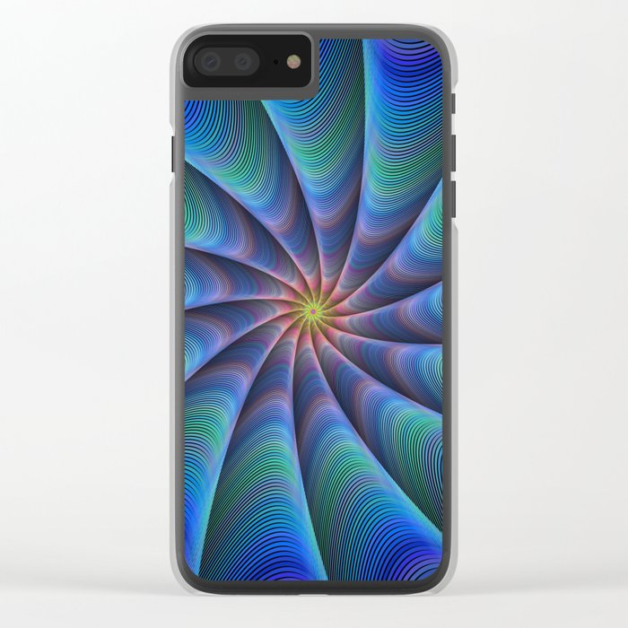 Path to meditation Clear iPhone Case