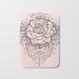 Night Rose Bath Mat
