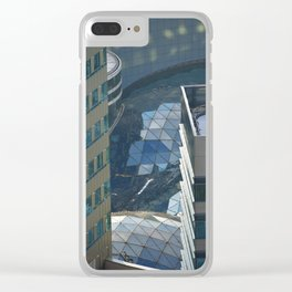 Urban river Clear iPhone Case