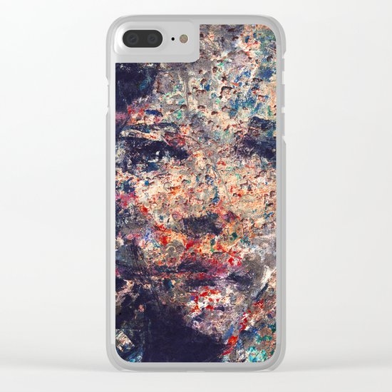 Fragmented People Clear iPhone Case