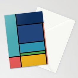 The Colors of / Mondrian Series - Ponyo- Miyazaki Stationery Cards