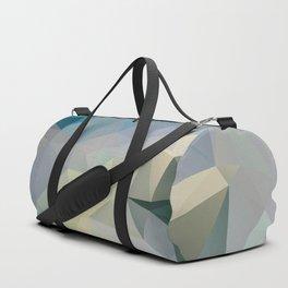 Mint / Poster, Art Prints, Deco, Scandinavian Images, Geometric, Pastel Poster, Mountains, Minimalis Duffle Bag