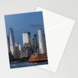 NYC and Staten Island Ferry Stationery Cards