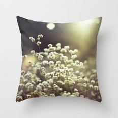 Baby's Breath 3 Throw Pillow