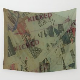 Kicked out Wall Tapestry