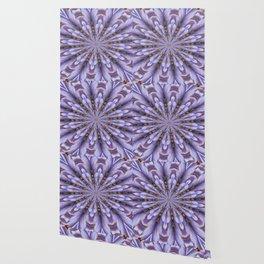 Lilac Kaleidoscope Wallpaper