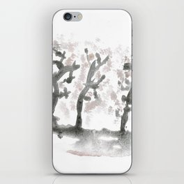 The landscape forest, abstract iPhone Skin