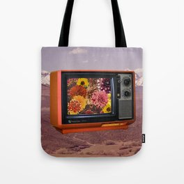 Color TV Tote Bag
