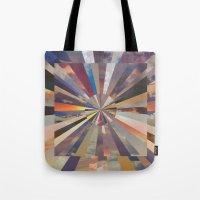 vertigo Tote Bags featuring Vertigo by Whitney Bolin