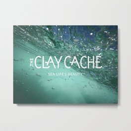 The Clay Cache Metal Print