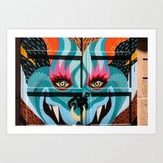 BCNGraffity Art Print