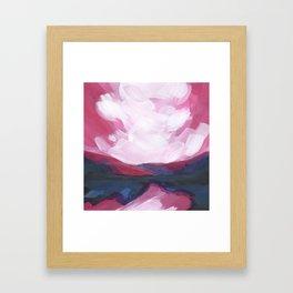 Mini Postcard for November Framed Art Print