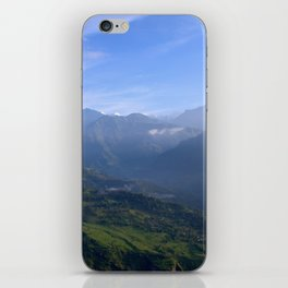 View of Besisahar - Greg Katz iPhone Skin