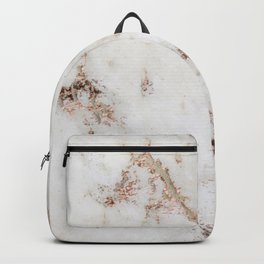 Artico marble - rose gold accents Backpack
