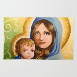 Madonna and Child Rug