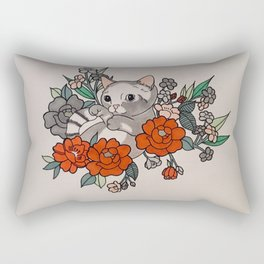 How Many Summersaults do I have to do? Rectangular Pillow