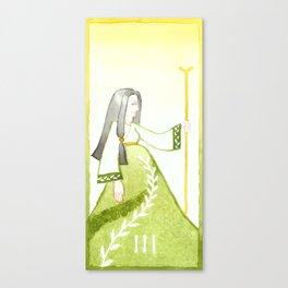 Tarot 3: The Empress Canvas Print