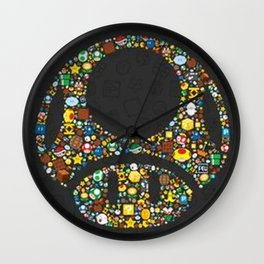 Toad Wall Clock