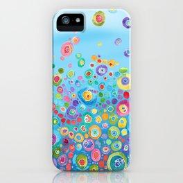 Inner Circle - Blue iPhone Case