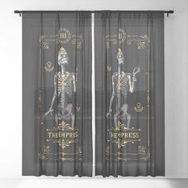 The Empress III Tarot Card Sheer Curtain