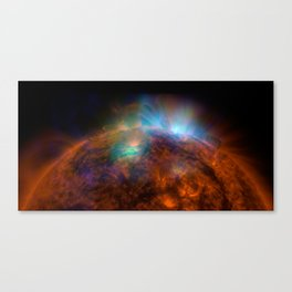 Sun Shines in High-Energy X-rays Canvas Print