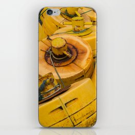 Yellow gathering iPhone Skin