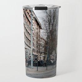 Tram in Milan Travel Mug