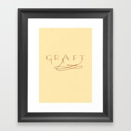Craft Framed Art Print