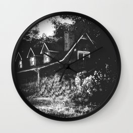 Spectral House VI Wall Clock