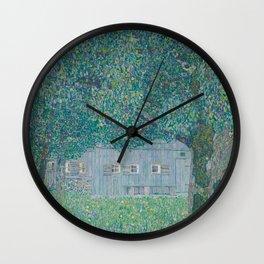Bauernhaus in Buchberg Wall Clock