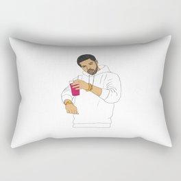 Dancing Drake Rectangular Pillow