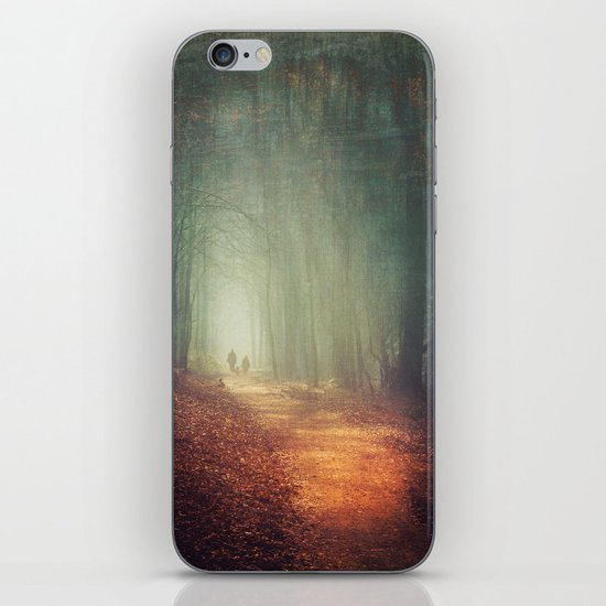 back to light iPhone & iPod Skin