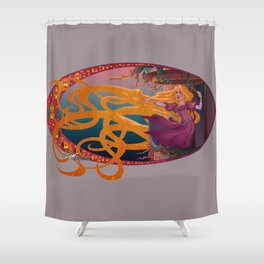 Rapunzel - Tangled Shower Curtain