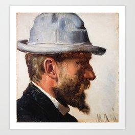 Niels Pedersen Mols by Michael Ancher, 1892 Art Print