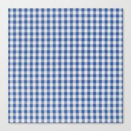 Remember Vichy (blue) Canvas Print