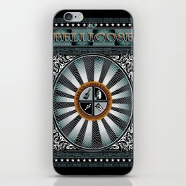 BELLICOSE iPhone Skin
