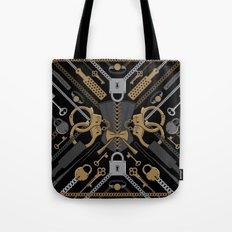 S&M Scarf Print Tote Bag