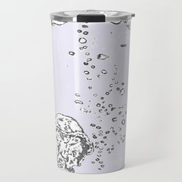 Two Tailed Duck and Jellyfish Lavender Travel Mug